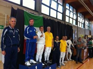 """Enrico Rovere 1° classificato al simpatico torneo """"veteres"""""""